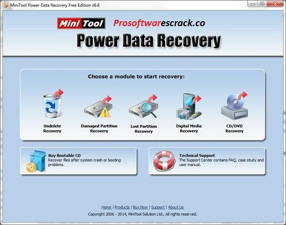 MiniTool Power Data Recovery 9.1.1 Crack + Full [Torrent] 2021