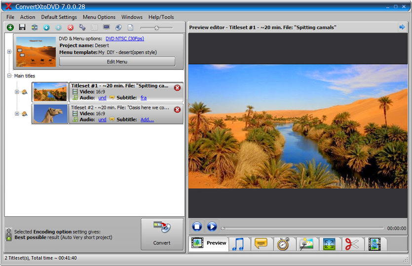 VSO ConvertXtoDVD 7.0.0.69 Crack Serial Key Latest Version Download